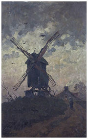 Windmolen in Genk